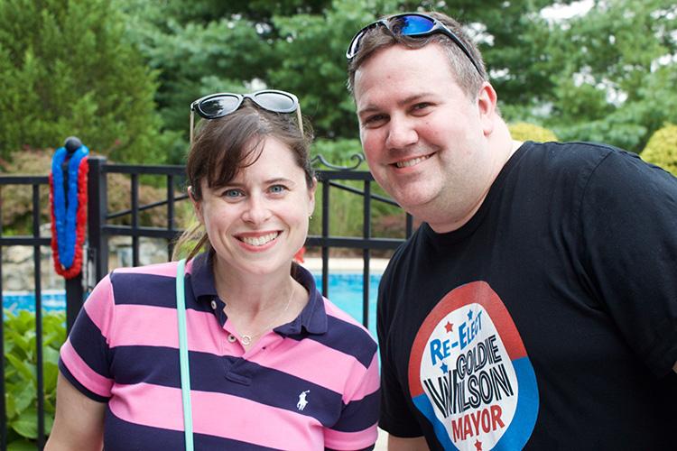 Kate and Vinnie